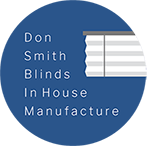In House Manufacture Mark - Don Smith Blinds