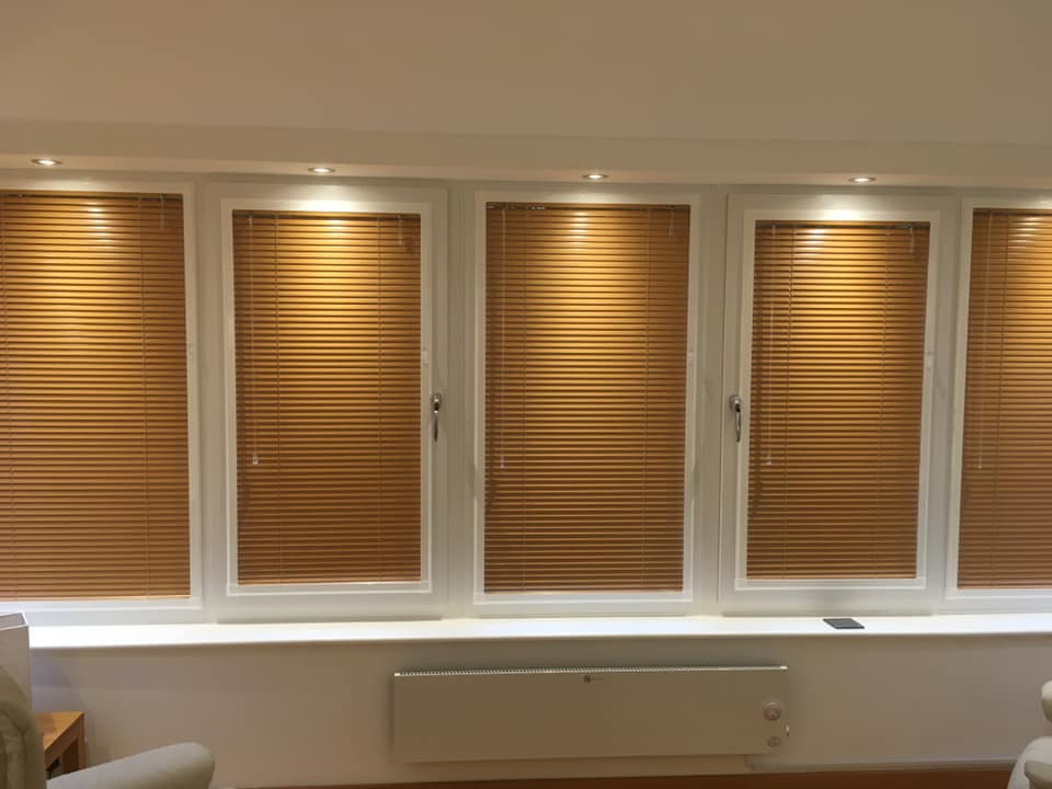 Perfect fit aluminium venetians