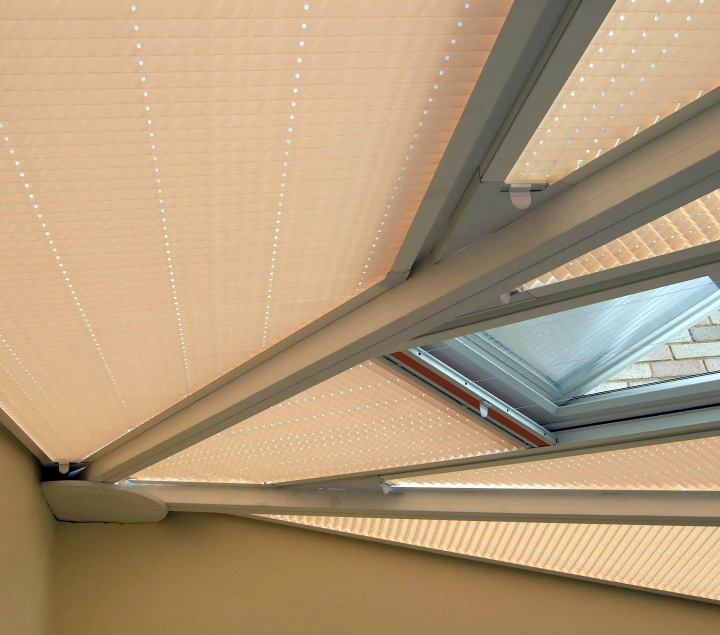 Don Smith Blinds - Conservatory Roof Blinds