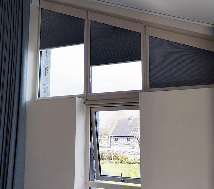 Don Smith Blinds - Gable blinds