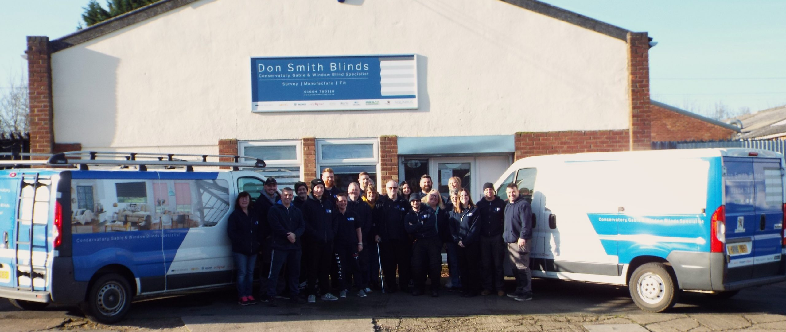 Don Smith Blinds workers