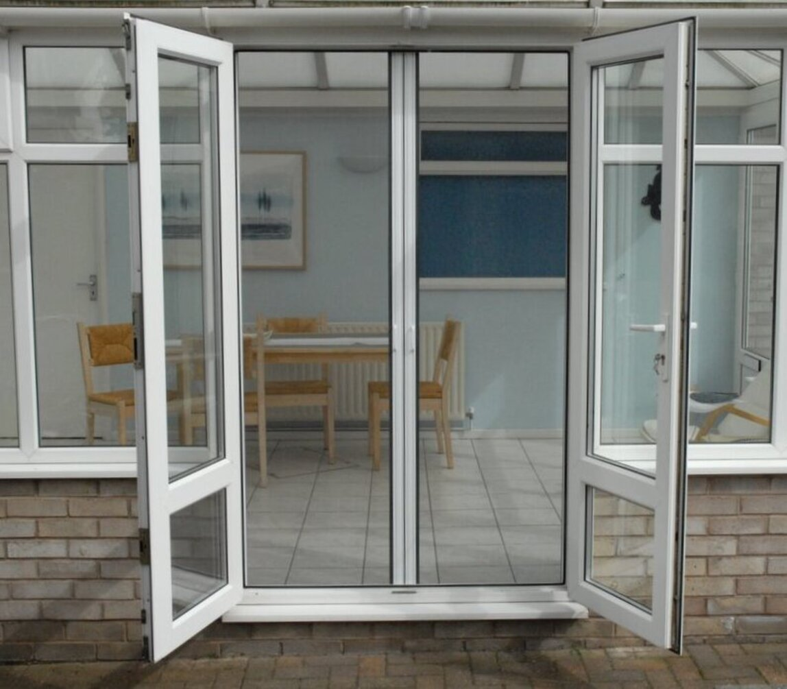 Insect Screen On French Doors