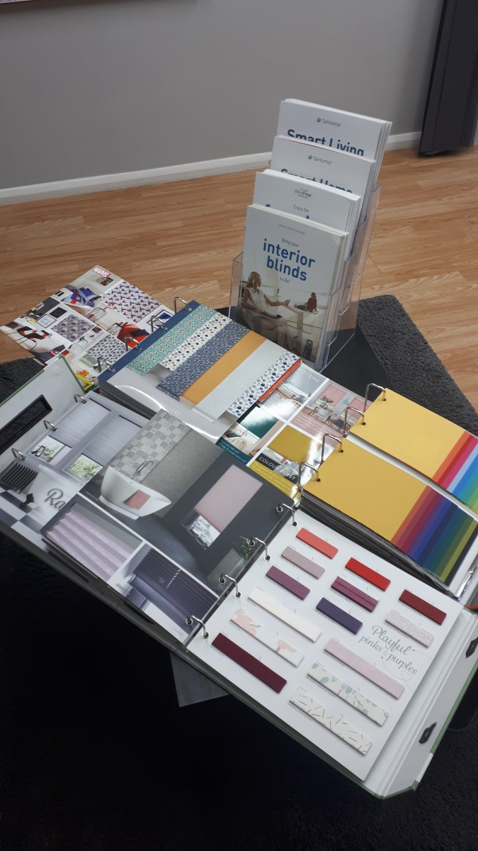 Fabric selection books